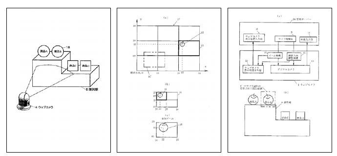 ウェブカメラ買い物システム概略図