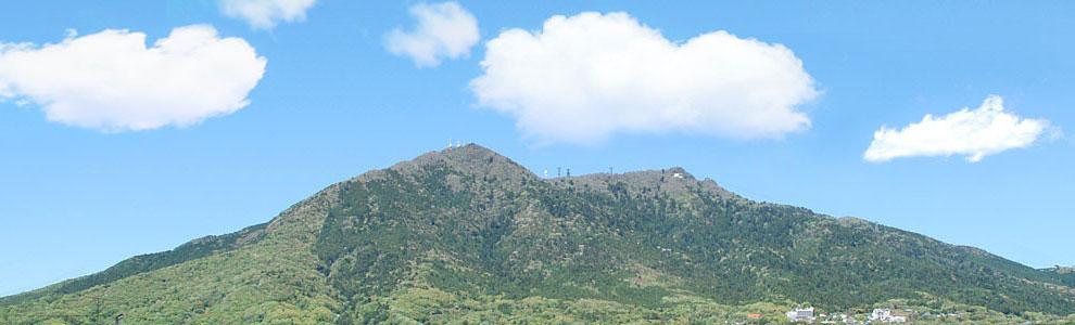 筑波山とクラウドシステムのスライド画像