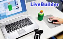 LiveBuilder:ホームページ制作にWEB画像処理システム